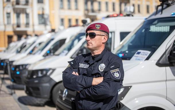 Нацполіція отримала від ЄС авто на 3,4 млн євро