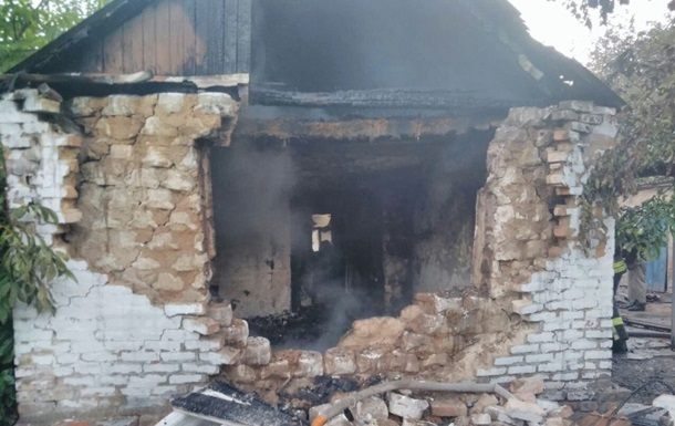 В Славянске при пожаре в частном доме погиб человек