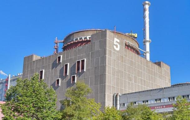 На Запорожской АЭС снова отключили пятый энергоблок
