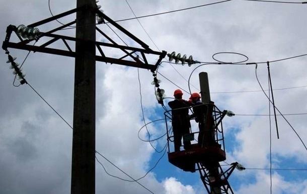 В  ЛНР  сталася аварія на електромережах