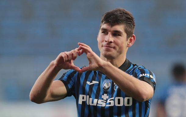 Малиновський - найкращий гравець Аталанти в грі проти Фіорентини