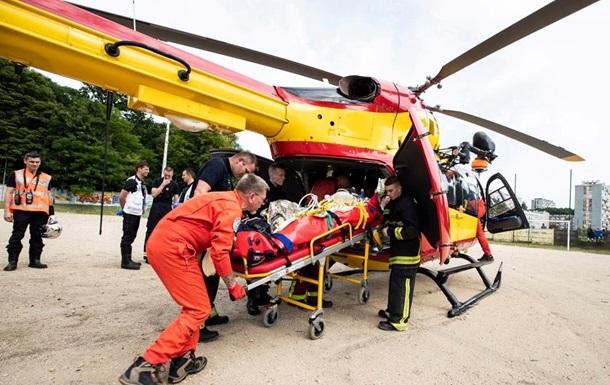 У Франції впав рятувальний вертоліт