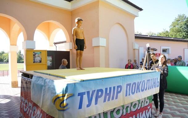Дев`ятирічний українець віджався 1001 раз і встановив рекорд