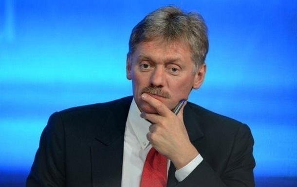 Песков отверг обсуждение Крыма Зеленским и Путиным