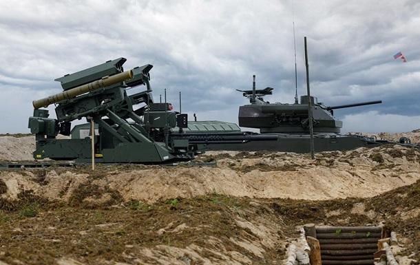 На навчаннях у Росії застосували нові озброєння