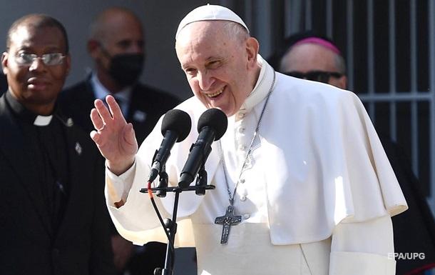 Папа Римський закликав читати проповіді швидше