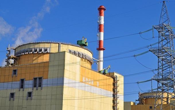 Рівненська АЕС відключила на ремонт третій енергоблок