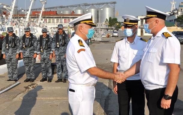 В Одессу прибыл катер Береговой охраны Турции