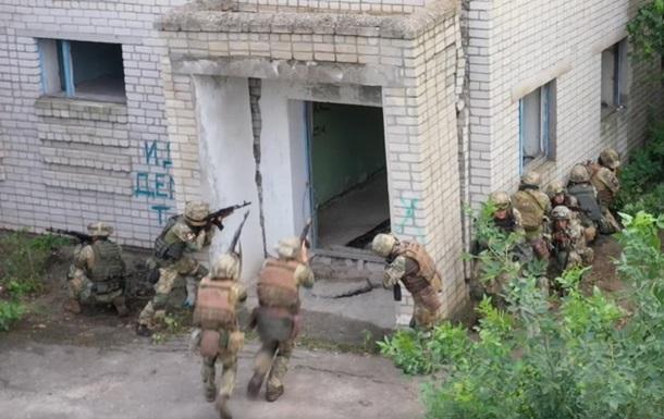 ВСУ провели учения по уничтожению диверсантов возле Крыма