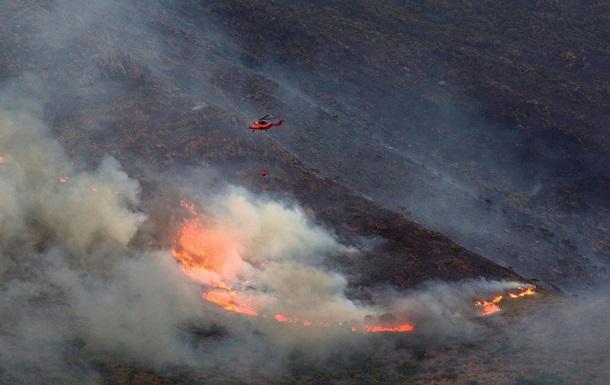 В Іспанії через тиждень взяли під контроль велику пожежу