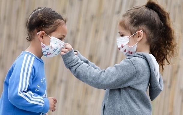 В Украине впервые дети составляют больше 10% COVID-больных