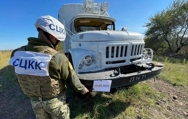 Сепаратисты обстреляли грузовик украинской стороны СЦКК