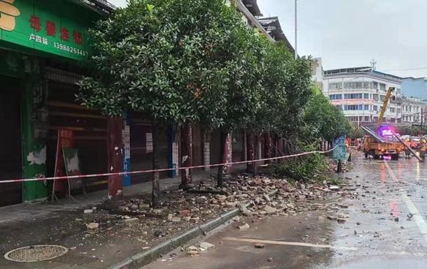 У Китаї стався сильний землетрус, є жертви