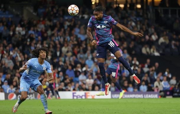 Хет-рик Нкунку у ворота Манчестер Сіті