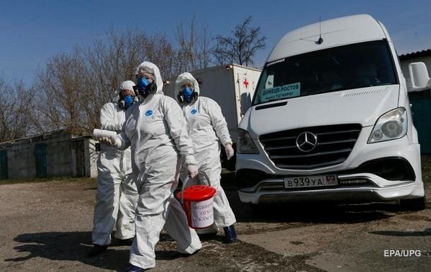 В  ДНР  всплеск СOVID-19: больницы почти заполнены