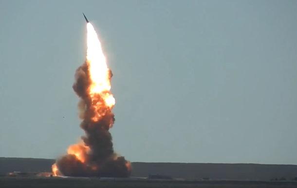 Россия провела испытание ракеты системы ПРО