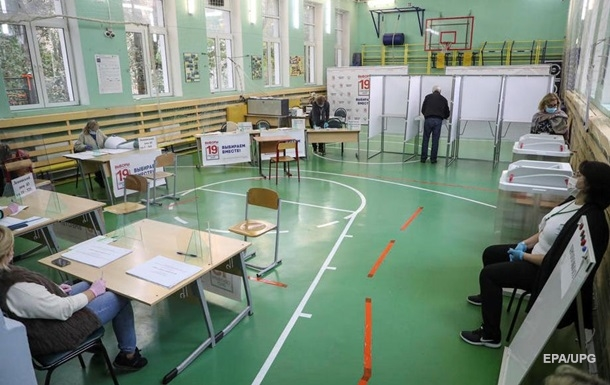 В России проходят выборы в Госдуму