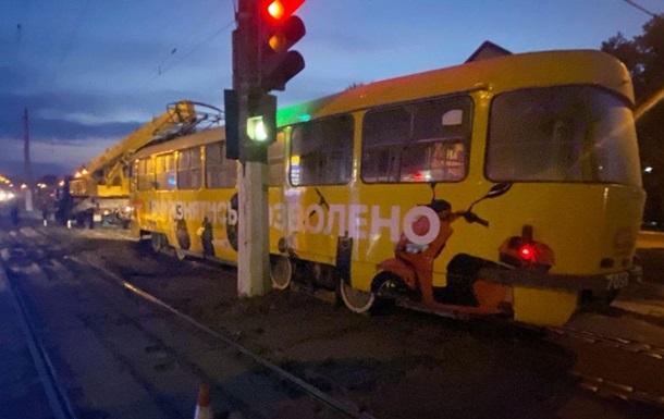 Трамвай сбил насмерть пожилую женщину в Одессе
