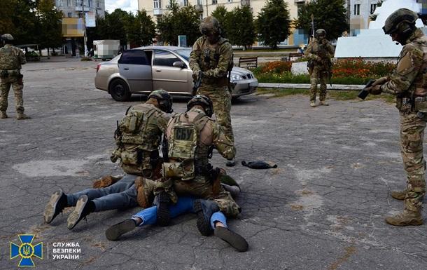 СБУ ловила `диверсантів` на кордоні з Росією