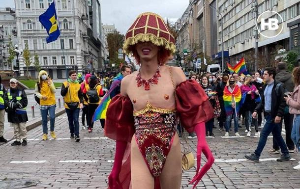 Марш ЛГБТ в Киеве: полиция перекрыла ряд улиц
