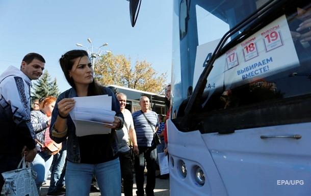В Украине открылись участки для голосования на выборах РФ