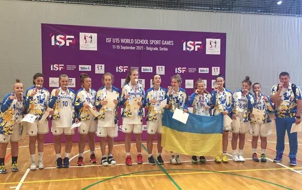 Украинские баскетболистки стали победительницами Всемирных ученических игр