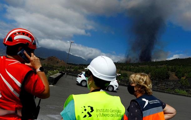 На испанском острове начал извергаться вулкан