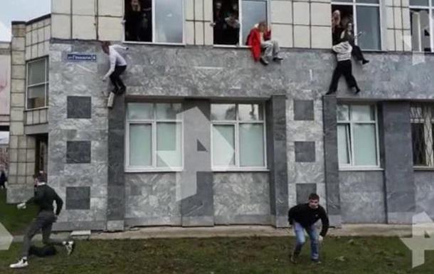 В Перми неизвестный устроил стрельбу в вузе