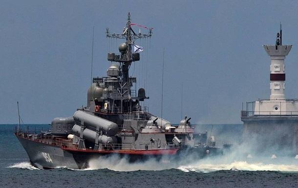 Россия начала крупные учения флота в Черном море