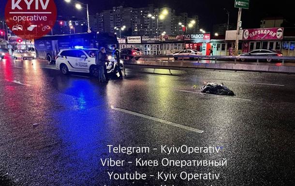 Пытался преодолеть восемь полос и отбойник: в Киеве погиб пешеход