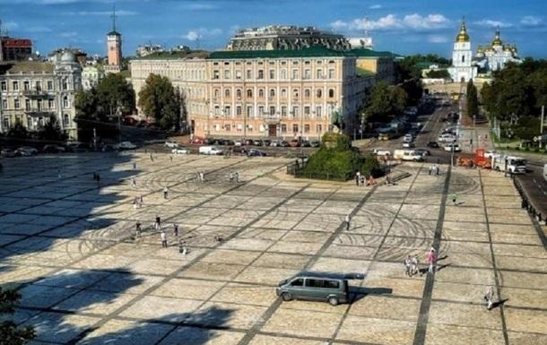 Названо розмір збитку, завданого Софійській площі у результаті дрифту