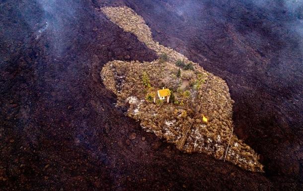Вулкан на острові Пальма знищив понад 160 будинків