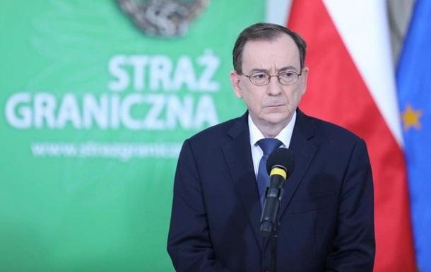 Польща направить ще 500 військових на кордон з Білоруссю