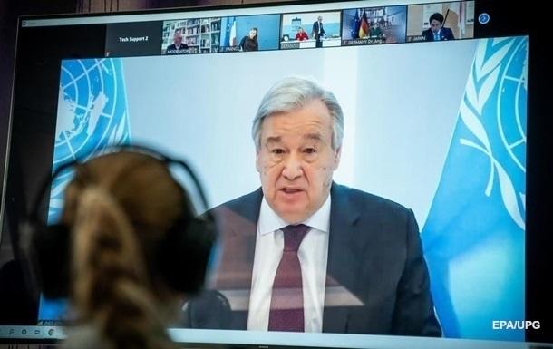 Генсек ООН заявив про безпрецедентну загрозу людству