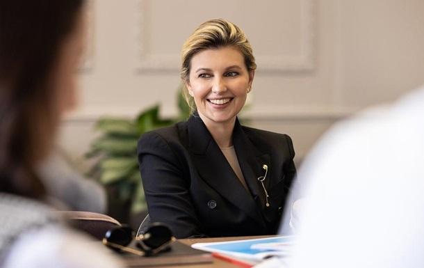 З явилися нові фото Олени Зеленської для журналу Elle