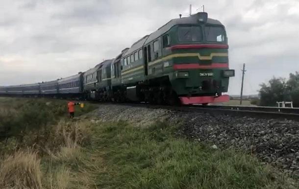 У Чернівецькій області ліквідували провал на залізниці