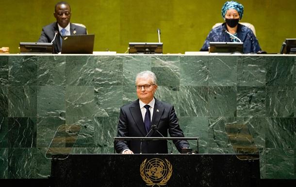 Литва закликала ООН посилити політику невизнання анексії Криму