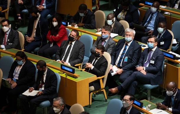 Зеленский провел встречу с генсеком ООН