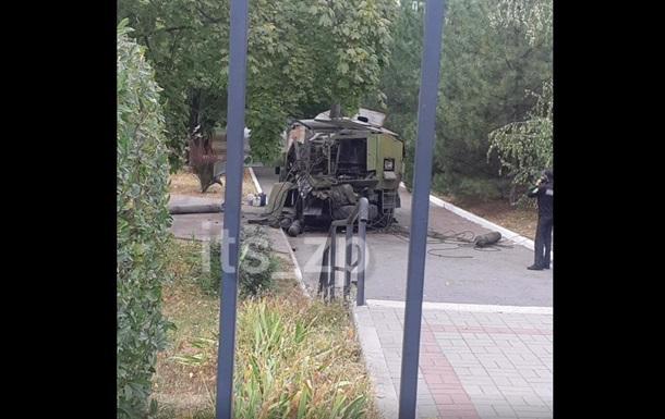 На території медуніверситету Запоріжжя пролунав вибух