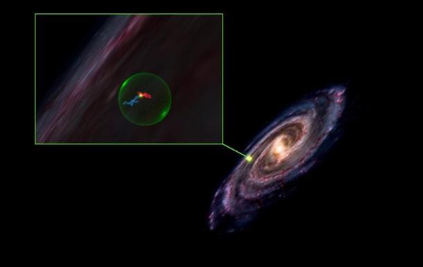 В космосе обнаружили огромную сферическую полость