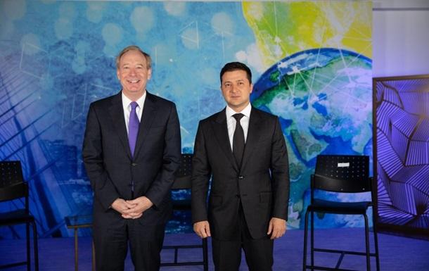 Зеленський провів зустріч з президентом Microsoft