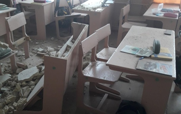 На Черниговщине в школе рухнул потолок