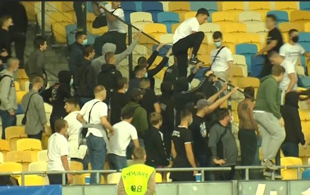 Динамо оштрафували за поведінку фанатів