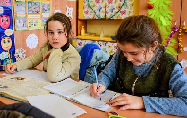 Названо число шкіл, де навчають дітей російською мовою