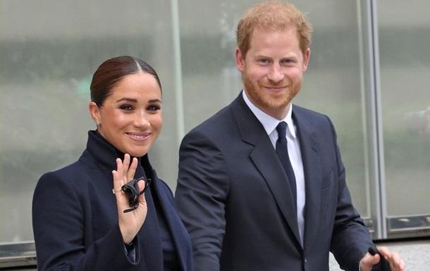 Герцоги Сассекские впервые после рождения дочери появились на публике
