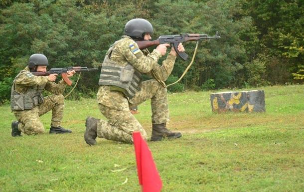 Прикордонники біля Сум провели навчальні стрільби