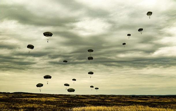 Военные Украины и США совместно десантировались