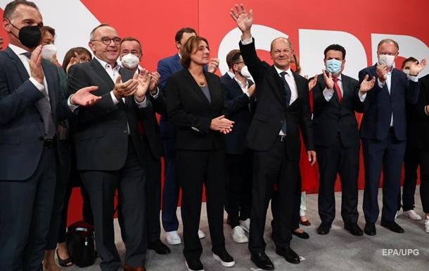 Вибори в Німеччині: лідирують соціал-демократи