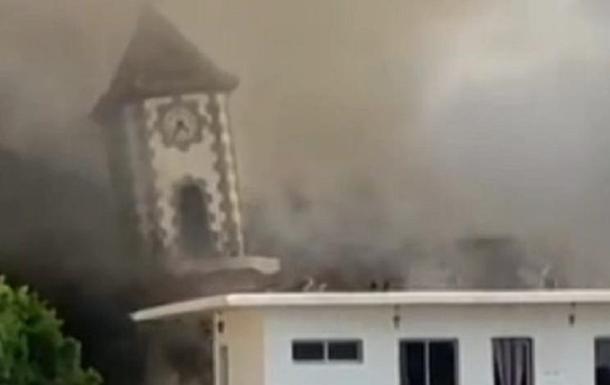 Вулкан на Канарах: опубліковано відео наслідків