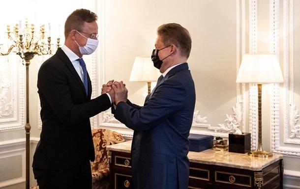 МЗС відреагувало на газовий контракт Угорщини і РФ